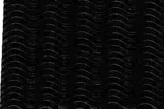 Corrugated Paper Illusion Black