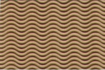 Corrugated Paper Illusion Kraft