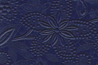 Embossed Paper Lace Blue