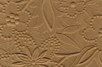 Embossed Paper Lace Brown