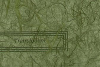 Unryu Tissue Paper Forest Green
