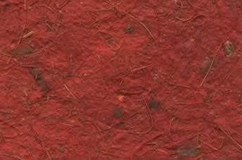 Birds Nest Paper Russet Red