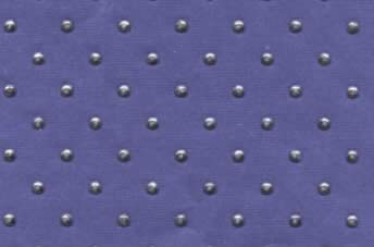 Dewdrop Paper Silver Dots Royal Blue