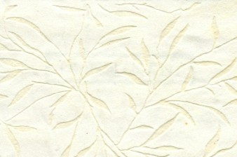 Flocked Willow Paper Winter White cover