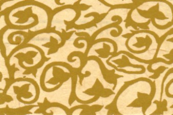 Lokta Flower Design Paper Gold Maize
