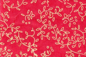 Napa Print Paper Red W Copper