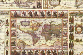 Tassotti Print Paper Maps of the World