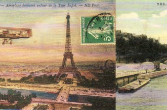 Cavallini Print Paper Paris Postcards