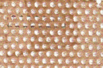 Lace Circle Mesh Paper Copper