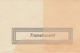 Vellum Envelope Peach A-7