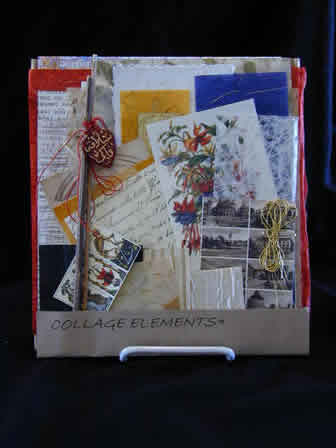 Collage Paper Elements Kit & How To Guide