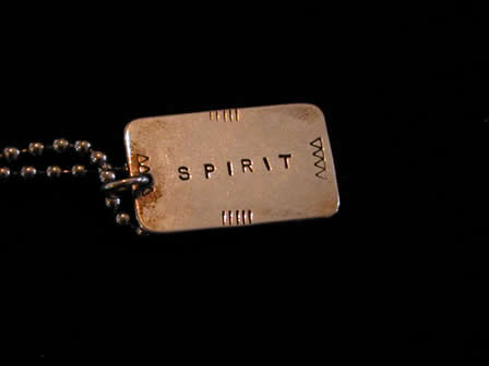 Sterling Necklace Spirit