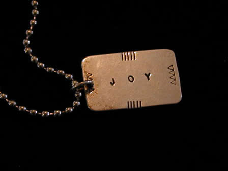 Sterling Necklace Joy