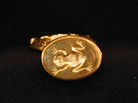 Wax Seal Brass Oval Frog