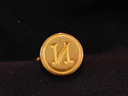 Wax Seal Brass Round N