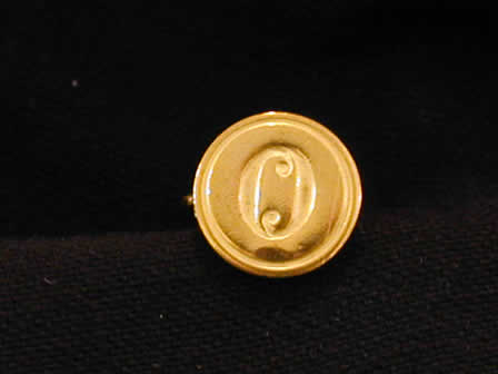 Wax Seal Brass Round O