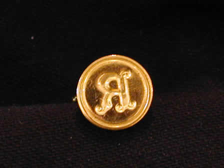 Wax Seal Brass Round R