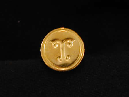 Wax Seal Brass Round T