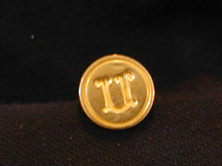 Wax Seal Brass Round U