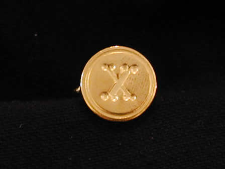 Wax Seal Brass Round X