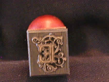 Wax Seal Brass w Wood E