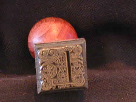 Wax Seal Brass w Wood L