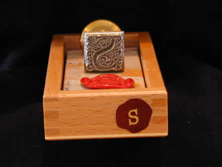 Wax Seal Square Metal S - Box