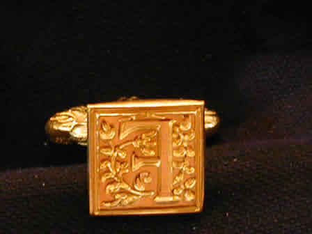 Wax Seal Brass Square F