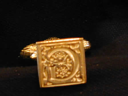 Wax Seal Brass Square G