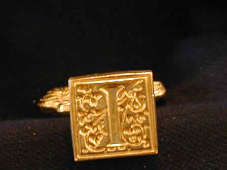Wax Seal Brass Square I