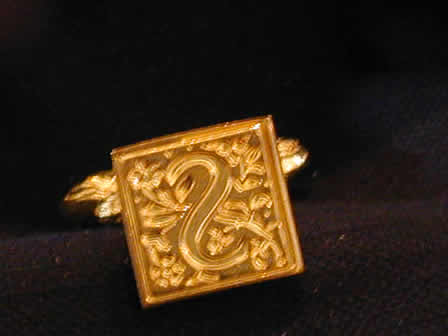 Wax Seal Brass Square S