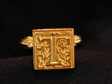 Wax Seal Brass Square T