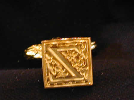 Wax Seal Brass Square Z