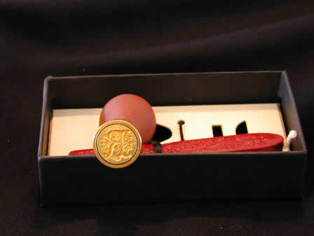 Wax Seal Sets Brass 1 Wax - R